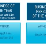 Target Fire win the Rochdale Business Awards 2016